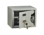 ARMOUR Mechanical Safe with Double bitted Keys Grey Lion King